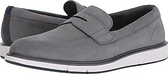 85a05f0d711 Swims Motion Penny Loafer (Gray Navy) Mens Shoes
