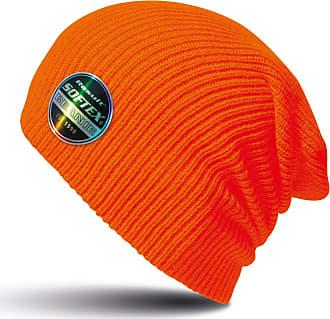 Result Winter Essentials Core Softex Beanie Hat (One Size) (Flo Orange)