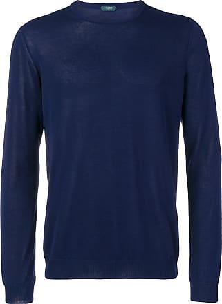 Zanone cable knit jumper - Azul