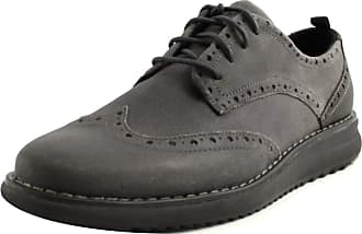 U.S.Polo Association English Stringate Shoes Men U.S. Assn Polo in Grey Suede. Non-Slip Rubber Bottom. Grey Size: 10.5 UK