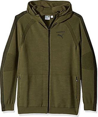 3be9cbe56c4a Puma Mens Evoknit Move Full Zip Hoodie