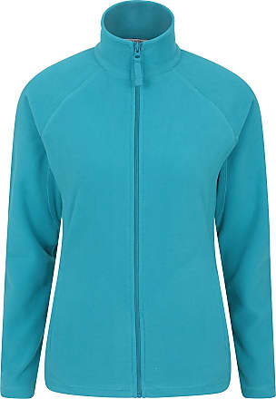 Mountain Warehouse Stylish Raso Womens Fleece - Lightweight Ladies Sweater, Quick Drying Pullover, Warm, Soft & Smooth - Ideal for Winter Travelling, Walking Teal 16
