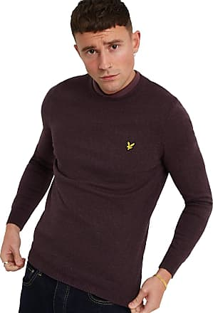 Lyle & Scott Lyle and Scott Men Crew Neck Cotton Merino Jumper - XXL