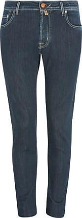 Jacob Cohen J 622 Orange Pony Badge Jeans in dunkler Waschung - UK 30 / EU 46