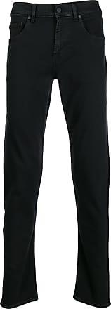 7 For All Mankind Calça jeans slim cenoura - Preto