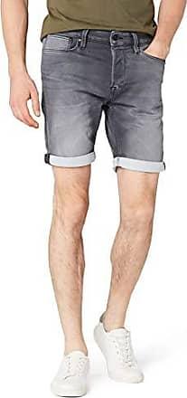 STS Pantalones Cortos para Hombre Talla del Fabricante: Small Azul JACK /& JONES Jjiron Jjlong Shorts GE 955 I.k 50 Blue Denim Blue Denim