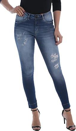 Osmoze Calça Jeans Osmoze Mid Rise Skinny Azul 46