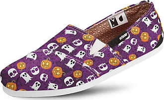 Usthemp Alpargata Usthemp Slim Vegano Casual Estampa Halloween Roxo 37