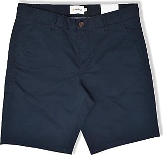 Farah Hawk Garment Dyed Shorts (True Navy) - 30
