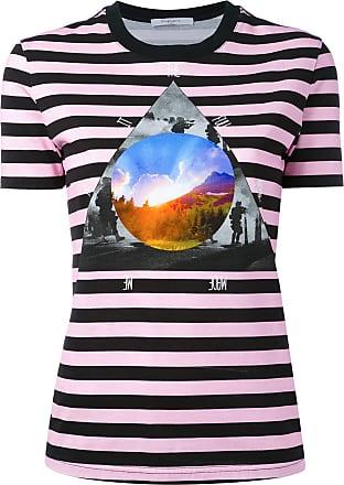 Givenchy Camiseta listrada Full Moon - Roxo