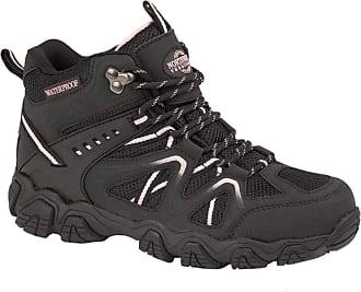 Northwest Territory Womens Trek Navy Blue Leather Walking Hiking Boots 7 UK