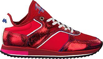 e01f70ff167 Floris Van Bommel Rode Floris Van Bommel Sneakers 85261
