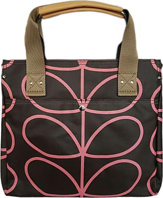 Orla Kiely Womens Zip Messenger Shoulder Bag (Nutmeg)
