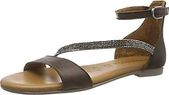 1 1 28050 32, Sandales Bride Cheville Femme, ( Metallic 952), 42 EU