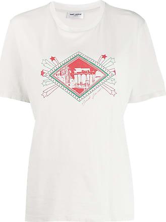Saint Laurent Camiseta estampada - Neutro