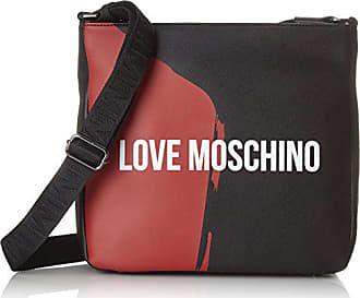 fc4ade670e Love Moschino Borsa Saffiano Pu Nero-rosso, Sacs pour ordinateur portable  homme, Multicolore