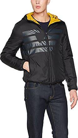 7dfdac4c35937d Armani Jeans Herren Jacke Blouson Jacket, schwarz gelb(schwarz gelb 0579),  Large