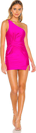 Superdown Bryce Front Knot Dress in Pink