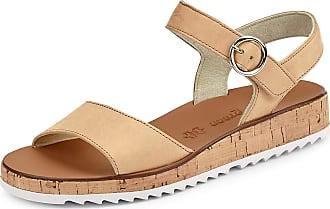 Paul Green 7534 7534-056 Sandals Beige Size: 9 UK