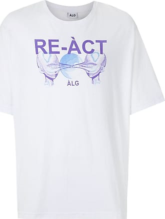 À La Garçonne T-shirt oversized Re-act - Branco