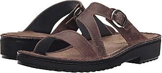 Naot Geneva (Brown Haze Leather) Womens Sandals