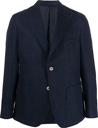 Eleventy buttoned cuff blazer - Blue