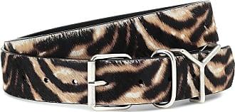 Y / Project Calf hair belt