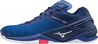 Mizuno Unisex Adults Stealth Neo Handball Shoe, Reflexbluec/Silver/Pink, 11.5 UK