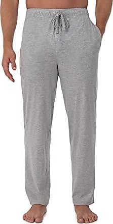 Fruit Of The Loom Mens Jersey Knit Sleep Pant, Light Grey Heather, 5X
