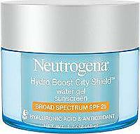 Neutrogena Hydro Boost City Shield Water Gel with Broad Spectrum SPF 25