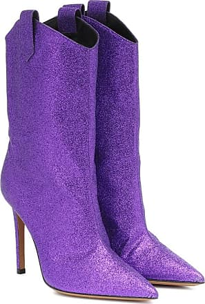 Alexandre Vauthier Exclusive to Mytheresa - Wayne glitter ankle boots
