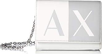 A|X Armani Exchange Chain Wallet, White 67