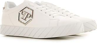 Philipp Plein Sneaker Uomo On Sale, Bianco, pelle, 2019, 39 40 41 41.5 42 42.5 43 44 45
