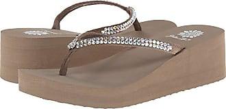 Yellow Box Custard (Rich Taupe) Womens Sandals