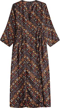 isabel marant seidenkleid tizy mit print - Kleid Ethno Muster