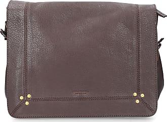 Jerome Dreyfuss Handbag IGOR leather logo studs brown