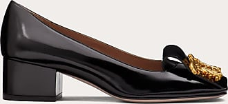 Valentino Garavani Valentino Garavani Griffin Calfskin Pump 45 Mm Women Black 100% Pelle Di Vitello - Bos Taurus 35.5