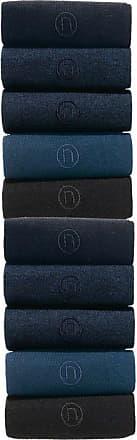 cf76dca0e4202 Next N Embroidered Socks Ten Pack - Black - Mens