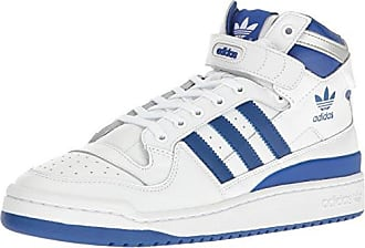 buy popular 4c4f4 42398 adidas Originals Mens Shoes  Forum Mid Refined Fashion Sneakers,  WhiteCollegiate Royal