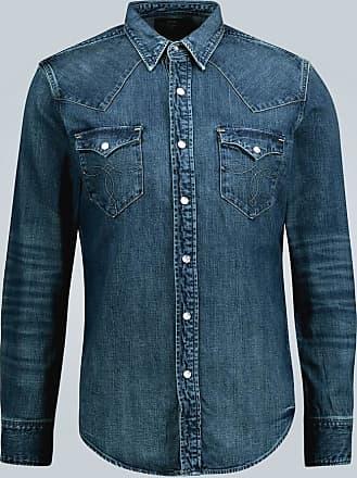 Ralph Lauren Slim-fit denim shirt