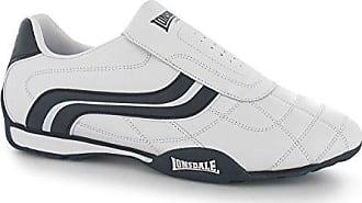 Lonsdale Herren Schuhe Turnschuhe Laufschuhe Sneakers Trainers Camden Slip  (42, Weiß Navy) 7ecf325f3d