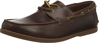 Clarks Pickwell Sail Leather Shoes in Standard Fit Size 10.5 Brown