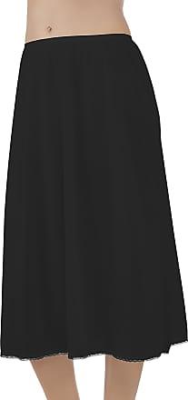 Vanity Fair Womens Daywear Solutions Half Slip 11711, Midnight Black, XXL (28 Length)