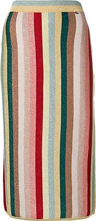 Elisabetta Franchi multicoloured striped skirt - Neutro