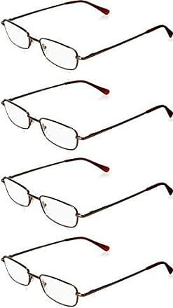ff3b62a3d4 Foster Grant Womens Four Pack Readers ARD15.COM Rectangular Reading Glasses