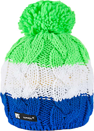 morefaz Knitted Wolly Style Beanie Hat with Ponpon Mens Womens Winter Warm SKI Snowboard Hats (Skippy 99)