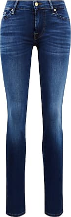 7 For All Mankind Jeans Roxanne Mittelblau