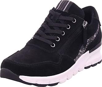 Jana Womens 8-8-23725-25 Sneaker, Black, 6.5 UK