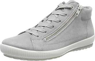 Legero Womens Tanaro Hi-Top Trainers, (Aluminio (Grey) 25), 6.5 UK