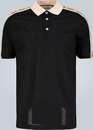 Gucci Poloshirt mit Logo-Borten